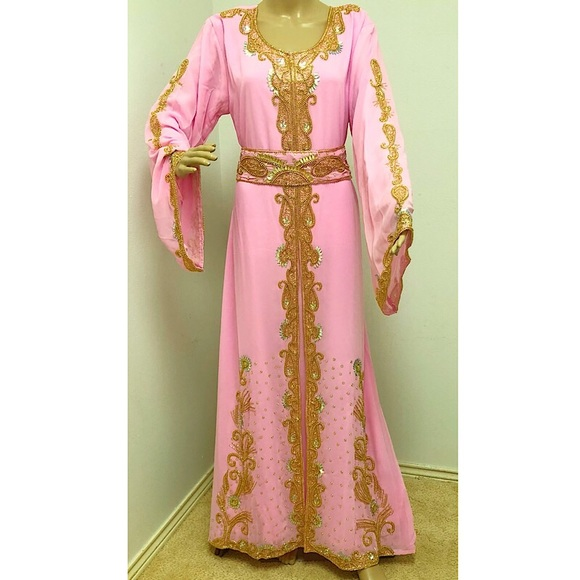 Dresses Dubai Kaftan Beaded Maxi Wedding Dress Moroccan Poshmark